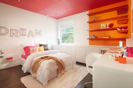 modern teenage girl room design