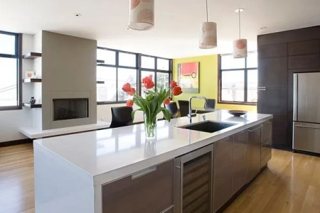 modern kitchen remodeling idea