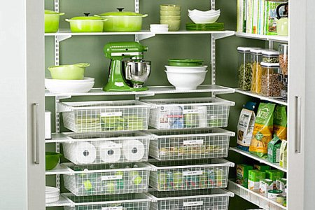 walk in pantry izational system