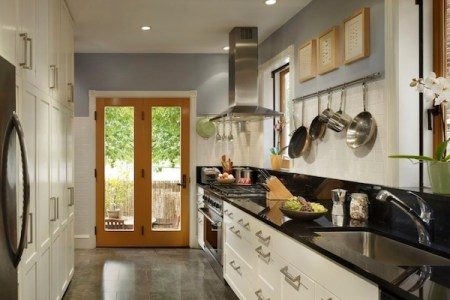 kitchen galley modern