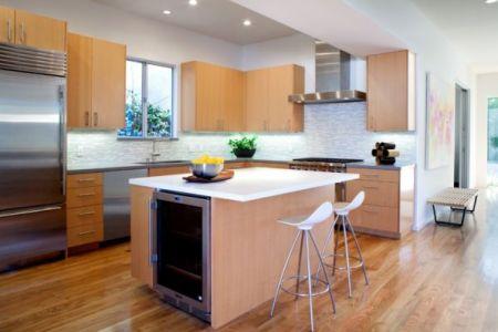 small kitchen island idea for tiny kitchens