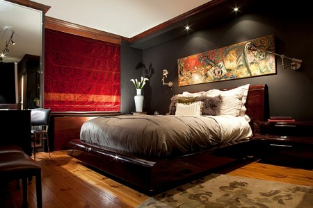 create a mood of your choice in the bedroom with lights