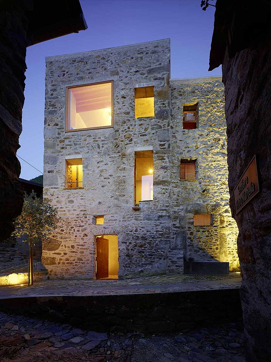 High View Gallery Renovated Stone House Switzerland Historic Stone House Switzerland By Wespi De Meuron Romeo Stone House Revival Episode List Stone House Revival Locations curbed Stone House Revival