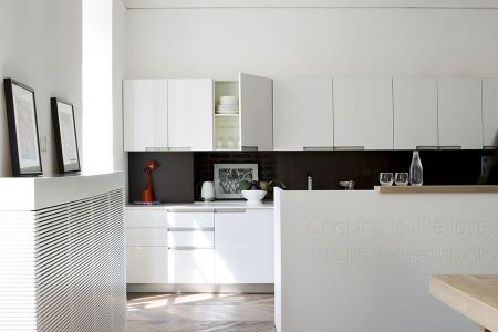exquisite kitchen design combines form with function