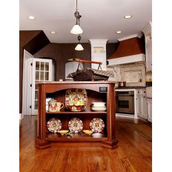 Small Crop Of Kitchen Island With Shelf