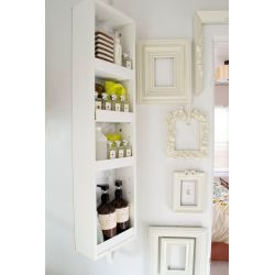 Small Crop Of Bathroom Wall Organizer Shelves