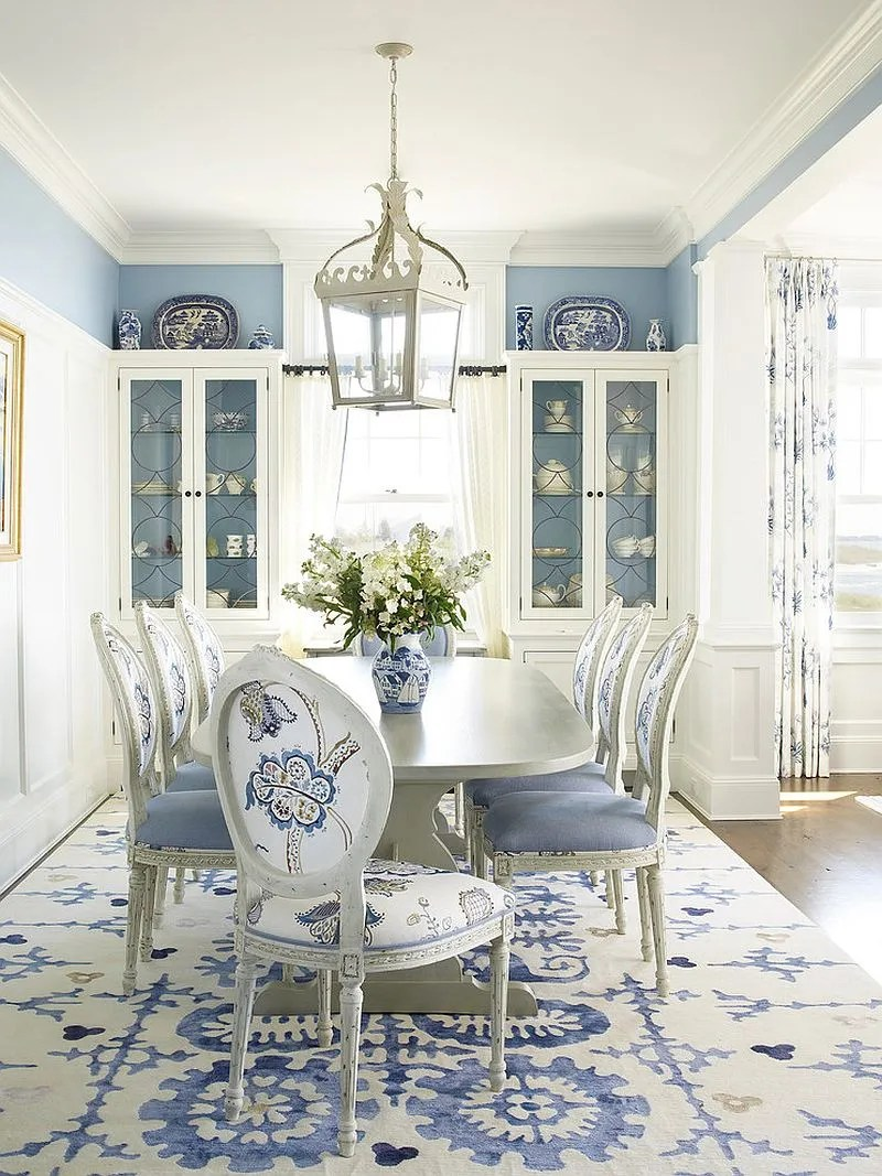 Large Of Blue Dining Room