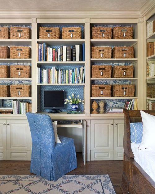Medium Of Office Area In Living Room