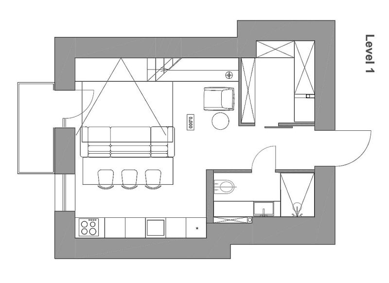 Large Of Small Apartment Plan