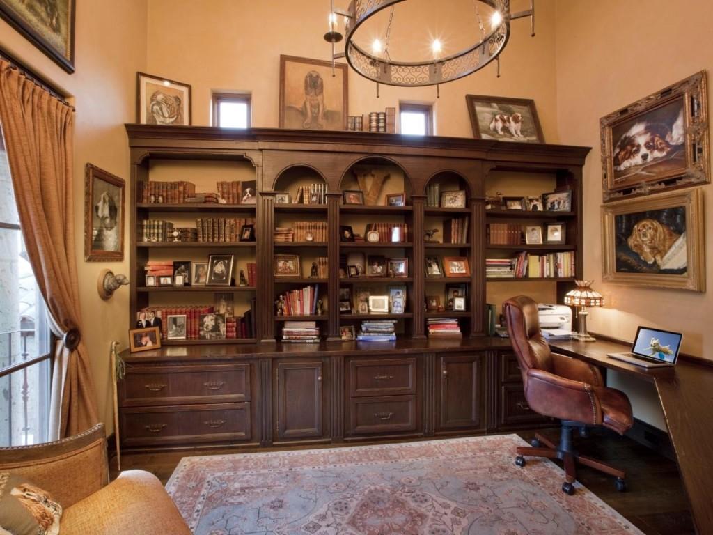 Fullsize Of Rustic Home Office