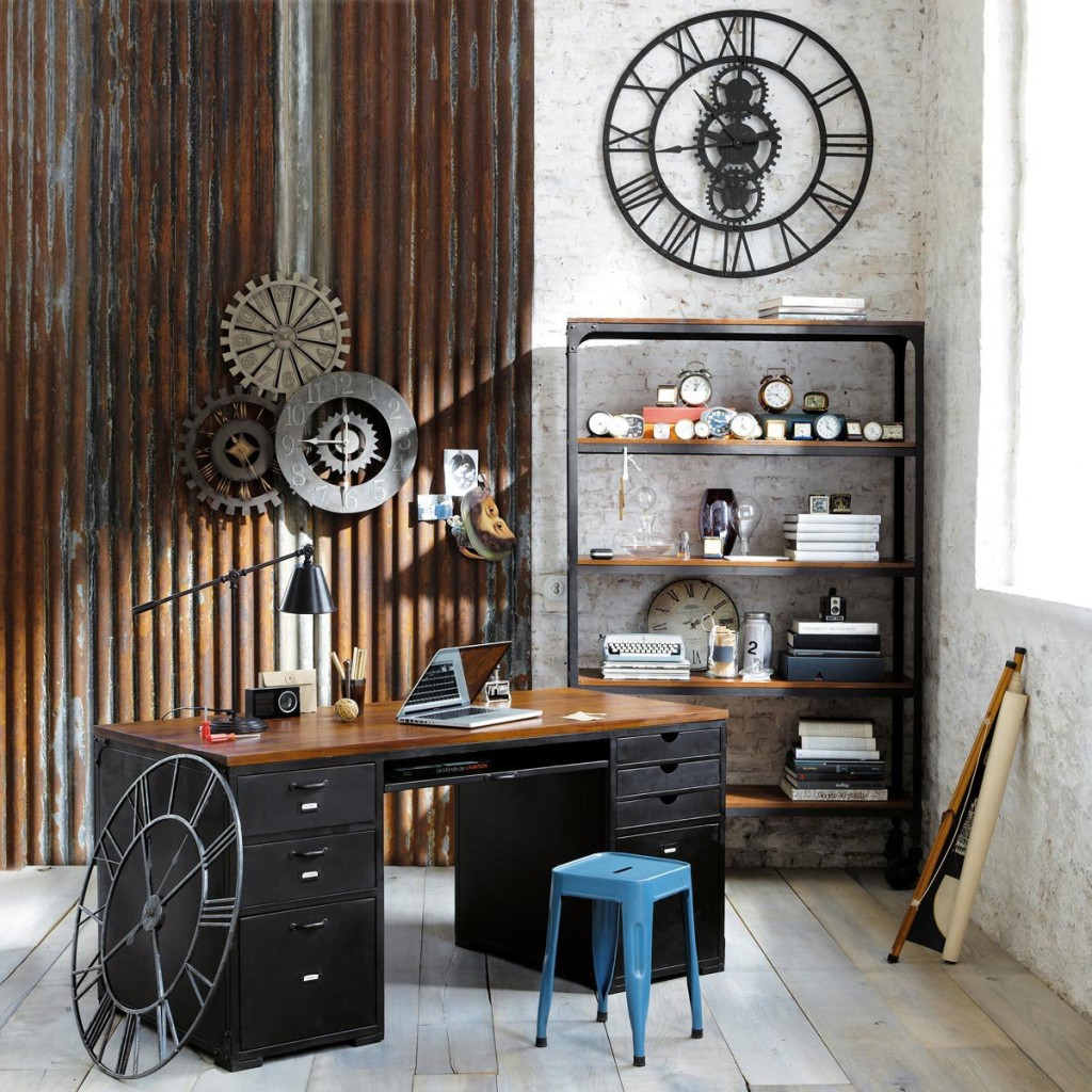 Neat Home Decor Home Rustic Ideas Steampunk Rustic Diy Ideas Rustic Home Office That Carries Many Elements home decor Rustic Ideas For Home