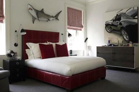 shark wall decor contemporary boy's room david