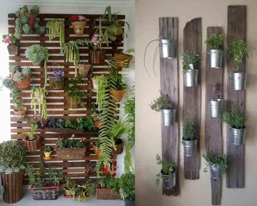 Riciclo 12 idee fai da te per personalizzare il giardino - Giardino verticale fai da te ...