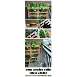 Peculiar Diy Pallet Garden Diy Pallet Projects Pallet Furniture Crafts Diy Crafts Horizontal Pallet Garden Instructions Horizontal Pallet Herb Garden