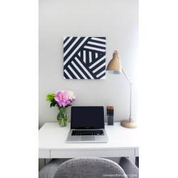 Excellent Striped Black Art Diy Diy Dorm Dcor Ideas Dorm Wall Decor Diy Dorm Wall Decor Ideas curbed Dorm Wall Decor