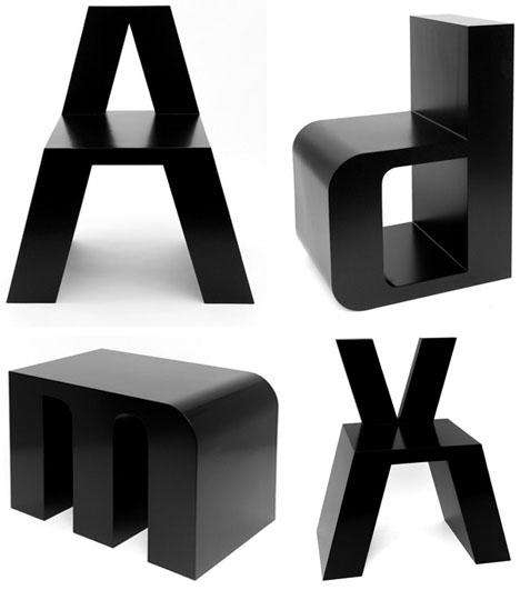 Alphabet Seats