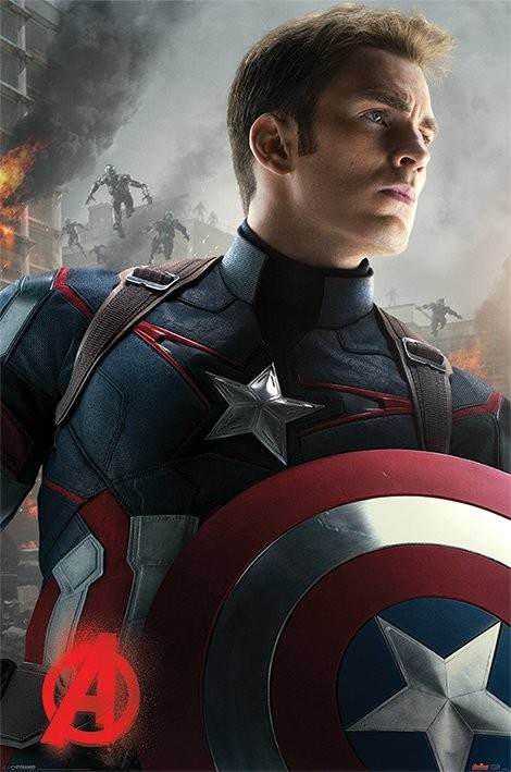 The Avengers  Age Of Ultron   Captain America Poster   Sold at     The Avengers  Age Of Ultron   Captain America Poster