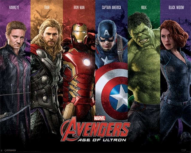 The Avengers  Age Of Ultron   Team Poster   Sold at Europosters The Avengers  Age Of Ultron   Team Poster