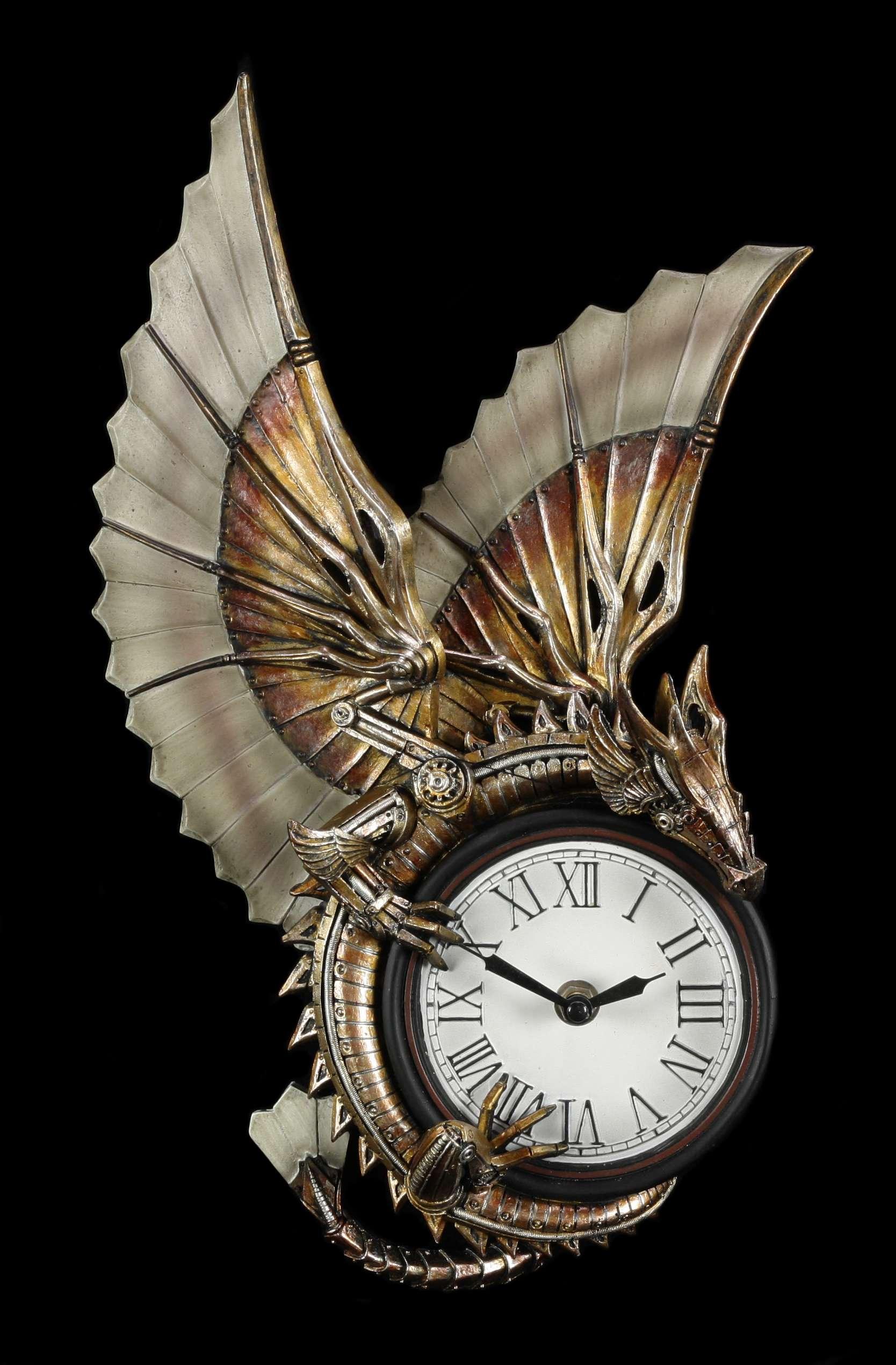 Encouragement Steampunk Wall Clock Clockwork Dragon Gothic Fantasy Resin Wall Clocks Buy Online Vintage Steampunk Wall Clock Steampunk Astrolabe Wall Clock houzz-03 Steampunk Wall Clock