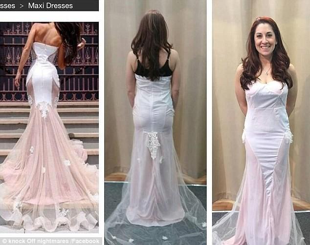 """Пример подобной """"выгодной"""" покупки  ожидание и реальность, платье"""