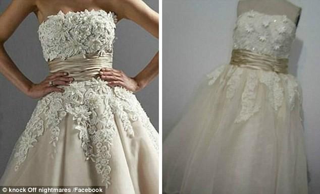 Откровенная и низкопробная подделка ожидание и реальность, платье