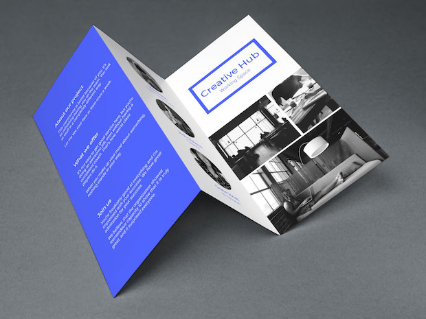 Pamphlet design ideas  examples and tips trifold brochure