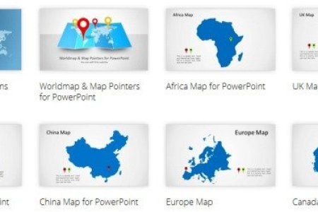 Map templates for powerpoint toneelgroepblik Gallery