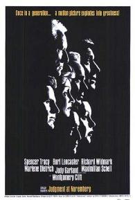 Poster do filme Julgamento em Nuremberg