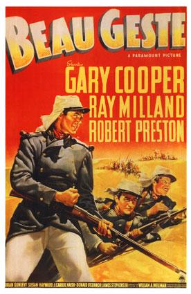 Poster do filme Beau Geste