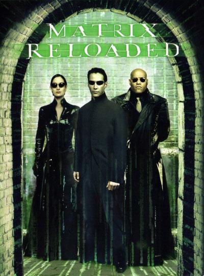 Poster do filme Matrix Reloaded