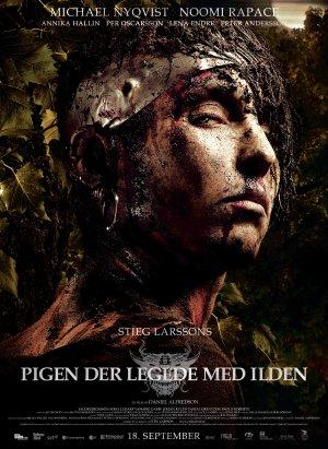 Poster do filme Millennium II - A Menina que Brincava com Fogo