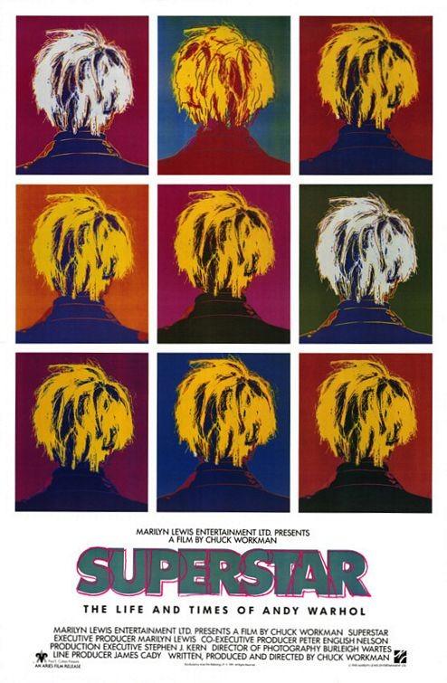 Poster do filme Vida e Morte de Andy Warhol