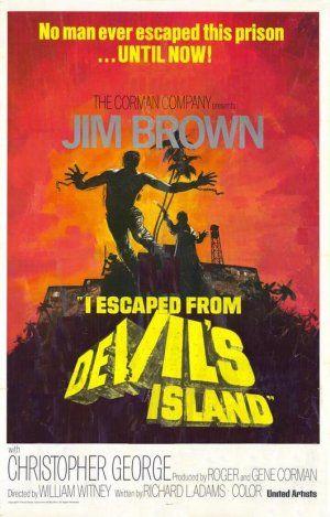 Poster do filme Fuga da Ilha do Diabo