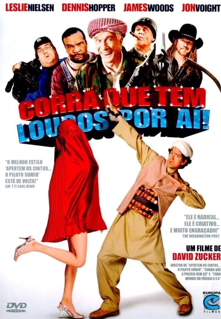 Poster do filme Corra que tem Loucos por Aí!