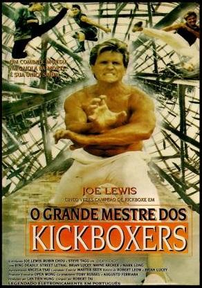 Poster do filme O Grande Mestre dos Kickboxers