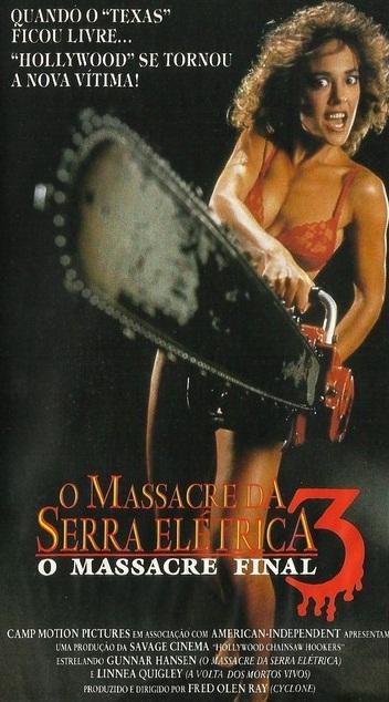 Poster do filme O Massacre da Serra Elétrica 3 - O Massacre Final