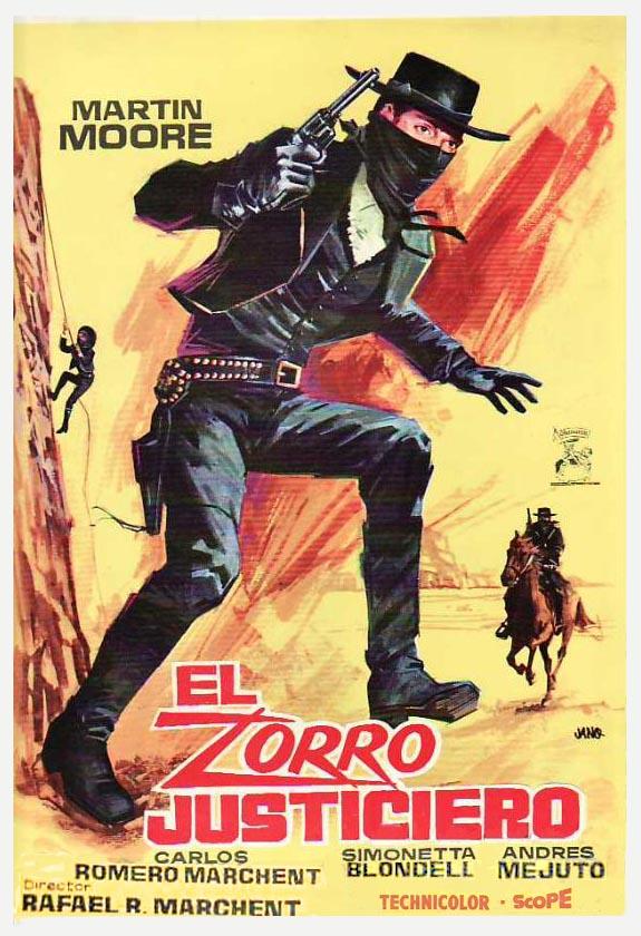 Poster do filme Zorro, O Justiceiro