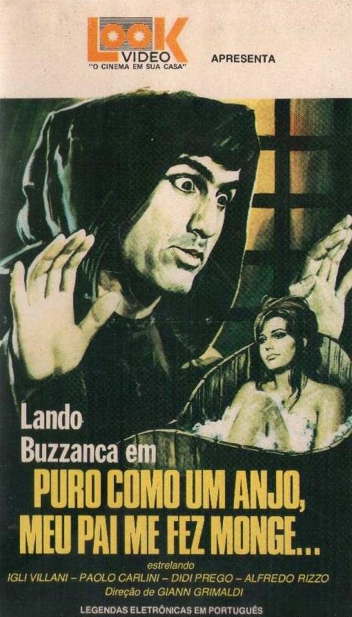 Poster do filme Puro Como Um Anjo, Meu Pai Me Fez Monge