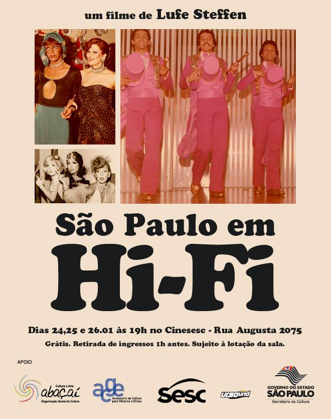Poster do filme São Paulo em HI-FI