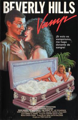 Poster do filme A Vampira de Beverly Hills