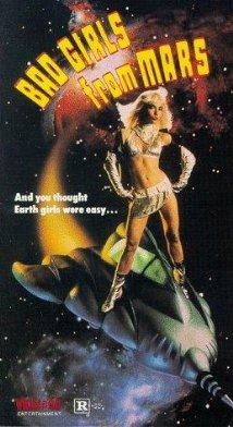 Poster do filme Bad Girls from Mars
