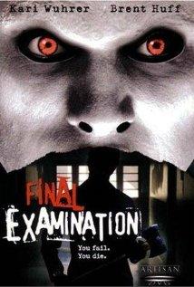 Poster do filme Final Examination