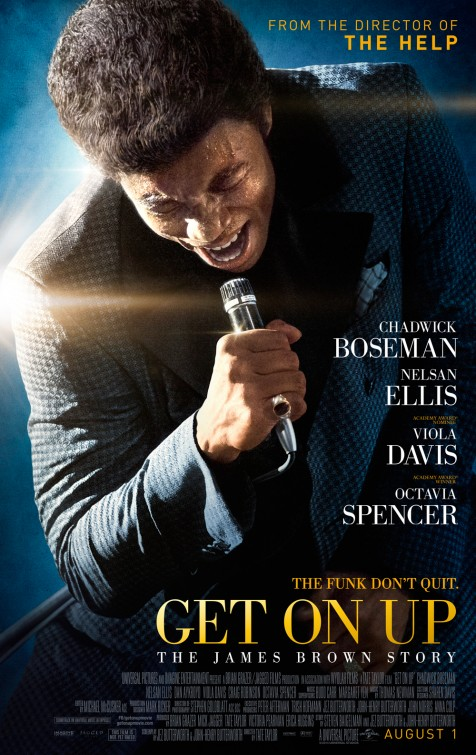 Poster do filme Get on up - A história de James Brown