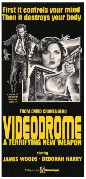 Poster do filme Videodrome - A Síndrome do Vídeo