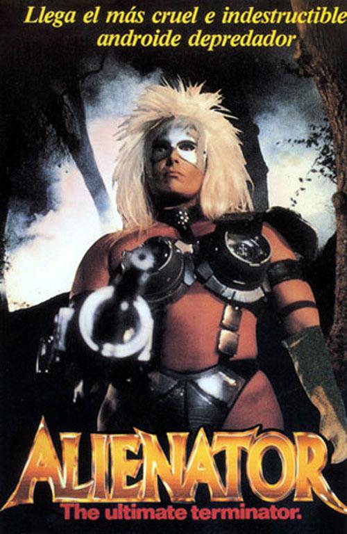 Poster do filme Alienator: A Exterminadora Implacável