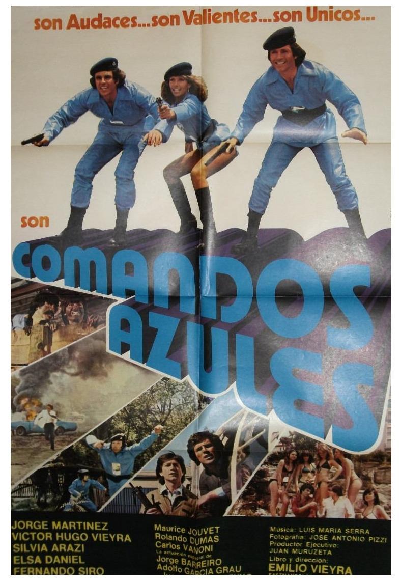 Poster do filme Comandos Azules