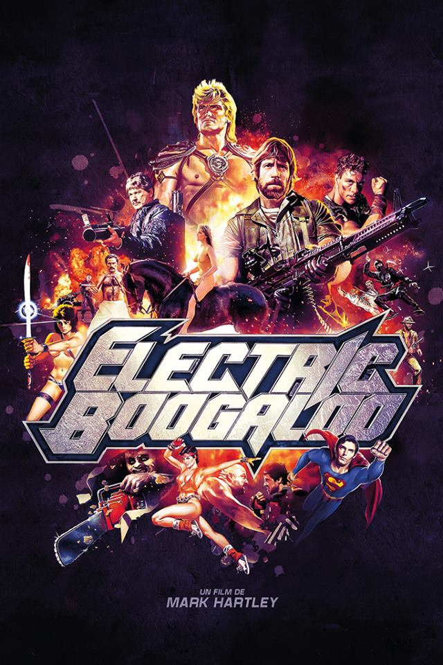 Poster do filme Electric Boogaloo: The Wild, Untold Story of Cannon Films