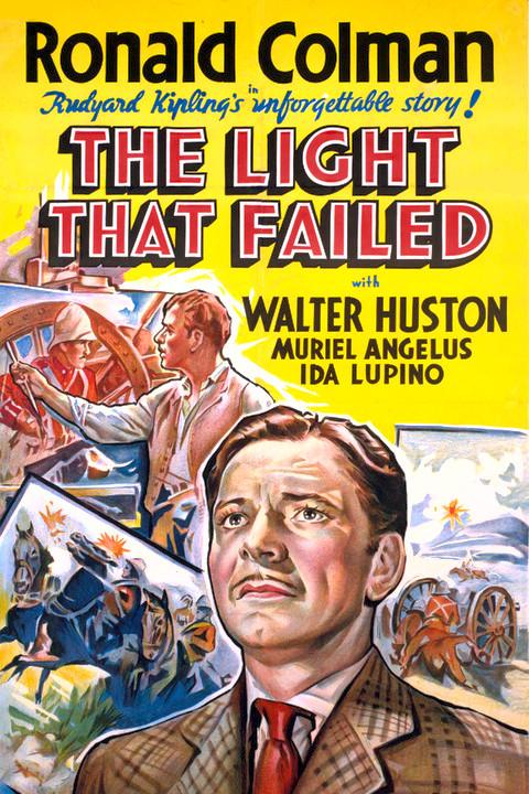 Poster do filme A Luz Que Se Apaga