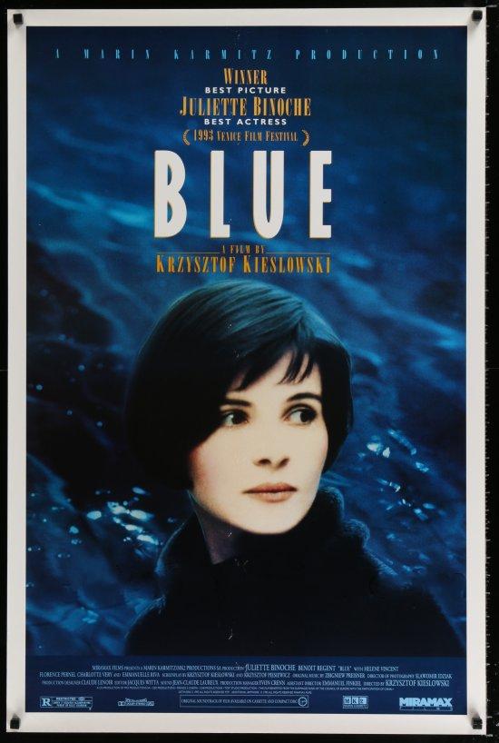 Poster do filme A Liberdade É Azul