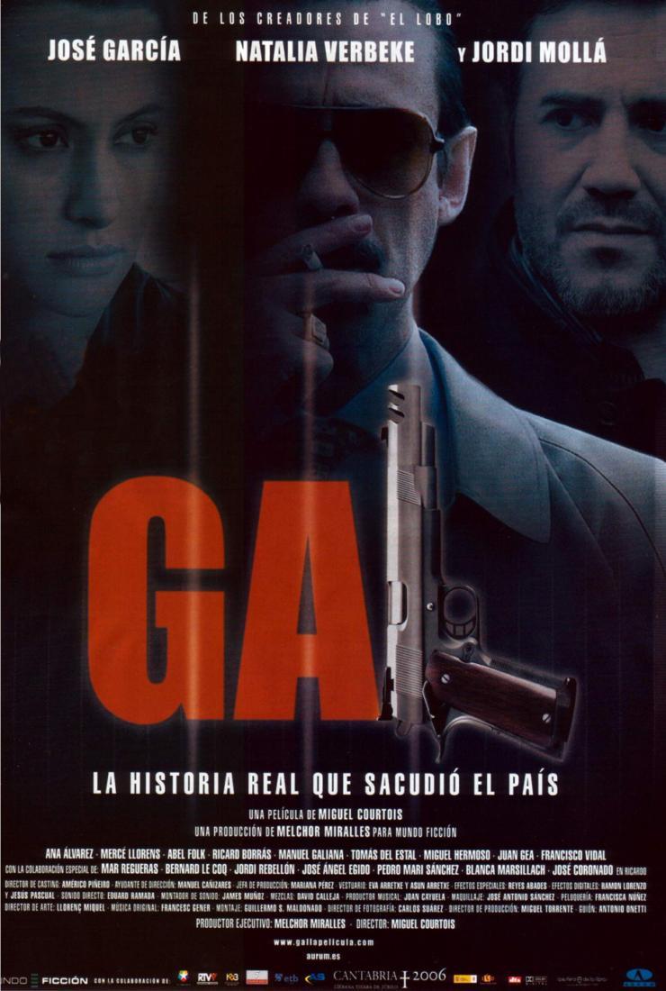 Poster do filme G-A-L- Grupo Anti-Terrorista de Liberação